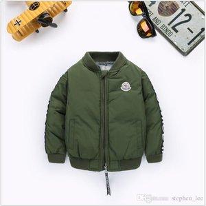 2019 New Boys Down Parkas Jackets Winter Jacket Boy Fashion Children Thick Coats Kids Windbreaker Jackets Outwear