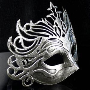 Roma Asker Erkek Telkari Lazer Kesim Erkekler Venetian Masquerade Göz Maskesi Parti Halloween Cosplay Düğün Mardi Gras Topu Maskeleri