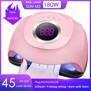 UV Lamp LED Nail Lamp Nail Dryer Sun Light Infrared Sensing 10 30 60s lamp for manicureNail Art Tools with Automatic Sensor