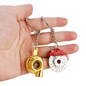 Mini Hochwertige Metallpfeife Sound Turbo Schlüsselanhänger Autoteil Modell Turbine Turboladers Schlüsselanhänger Ring Keyfob Schlüsselanhänger