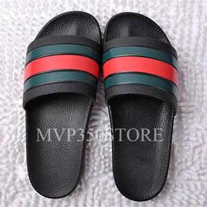 NUOVA Europa Marchio di Moda mensstriped sandali firmati di lusso causale antiscivolo estate huaraches sandali infradito slipper designer diapositive