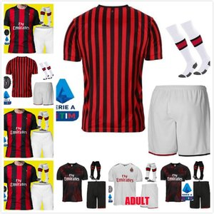 adulto Zlatan Ibrahimovic 7 S.CASTILLEJO AC Milan camiseta de fútbol ROMAGNOLI 8 SUSO 10 Calhanoglu BORINI camiseta de fútbol piątek Paquetá CUTRONE