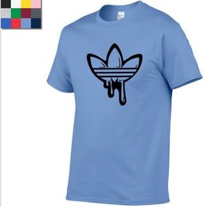 Verão Camisetas Preto Branco Cinza Marinha Original Top Quality 100% Algodão Fashion Designer camiseta de manga curta Camisetas Mulheres Tops S-3XL