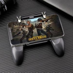 Contrôleur W10 Universal Mobile Phone Jeu manette de jeu Chicken Dinner Gamepad Pour But Bouton Shooter Trigger jeu Accessoires vente chaude