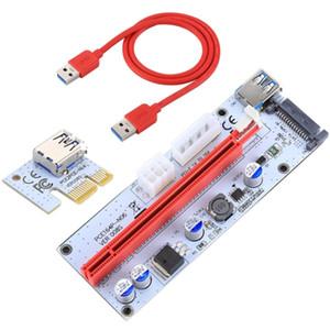 PCI-E Riser Expresso 1X a 3,0 Riser Card Adapter 16x USB Extender