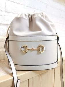 2020 2G Tamanho: 602118 22 * 25 * 12 cm novo pequeno balde pele cheia Mulheres cadeia de bolsa Crossbody Bag Marca Designer Messenger Bag sac a principal