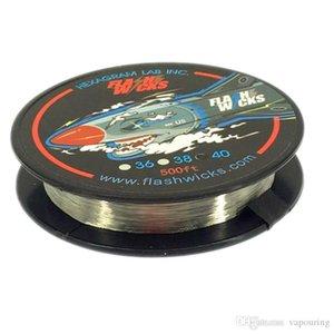 Fios Flashwicks Aquecimento fio Resistência 500 pés de baixa resistência para DIY RDA RBA Atomizador Bobinas de alta qualidade 100% Original Authentic