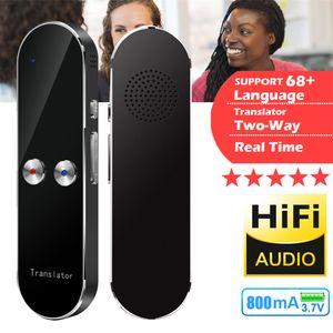 Non-touch Screen Portable K8 Smart Vioce Speech Translator 3.7 V двусторонний переводчик 68 языков в реальном времени горячие интеллектуальные переводчики