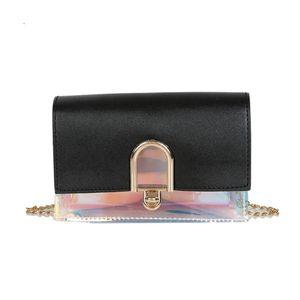 Women Message Bags 2019 New Arrival Joker Simple Fashion Shoulder Messenger Bag Small Square Bag Hit Color Shoulder Bags
