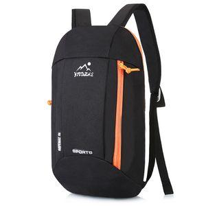 Outdoor-Sport Leichtgewichtler 10L Wandern Rucksack Rucksack Reise Wasserdichte Tasche Reißverschluss Verstellbaren Gürtel Camping Laptop Weiche