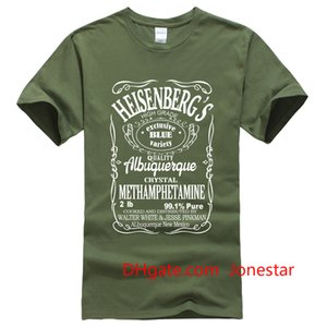 Men's T-Shirts summer 2019 printed Breaking Bad Heisenberg letter T-shirt hip hop blouse men's sportswear t shirt men harajuku
