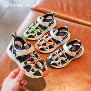 Enfants Flat 2020 Summer Baby Girls Mode Chaussures respirantes Casual enfants sandales de plage garçons Marque plat PY-BS-022