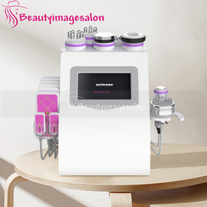 40k Unoisetion Cavitation Machine RF Vacuum Suction Fat And Cellulite Reduction Machine Micro Current Beauty Device