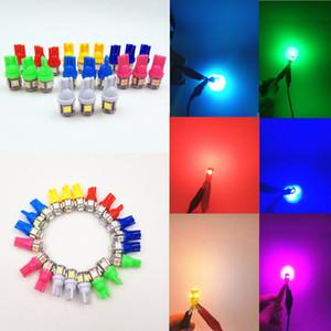 Лампада Light 50шт Led автомобиля 12V T10 5050 Супер свет 194 168 W5W T10 Светодиодные лампы парковки авто Клин габаритный фонарь