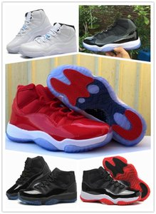 11 Chicago 11 Win Like 96 gym red 11s Midnight Navy 11 Basketball Shoes wholesale With Box Sport Sneakers unisex size free ship