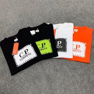 HOTSALE CP T Shirt Brand Mens T Shirt Company Конструктор Tshirt Мужчины Женщины CP Outfit Luxury тройники CP Пальто Лето Весна Pullover 54242