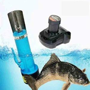 Elektrische Scraping Waagen Maschine Fisch-Skala-Scraping-Maschine Wiederaufladbare Fish Kitchen Scaling-Tool Scales