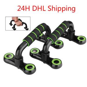 DHL de envío desmontable Pectorales Soportes Grip equipo de la aptitud Maneja Entrenamiento muscular Buiding Deportes Cuerpo Pecho Push Up bastidores FY7090