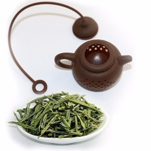 HELLLOYOUNG 2019 High Quality New Silicone Tea Bag Tea Pot Shape Filter Infusers Safe Clean 1 pcs Preferred