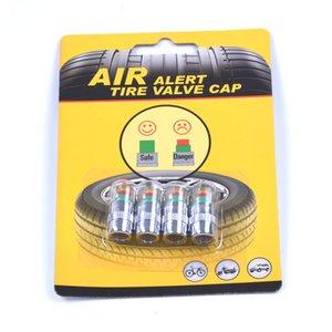 4pcs / Lot 32 Psi 2.2bar Auto Car tapa de presión de neumáticos Neumático Monitor de presión de aire Indicador Alerta Herramienta de medidor de diagnóstico