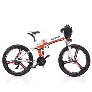 M80 21 Velocità Bicicletta pieghevole 48V * 350W 26 pollici bici di montagna elettrica doppia della sospensione con display a LED 5 Pedal Assist