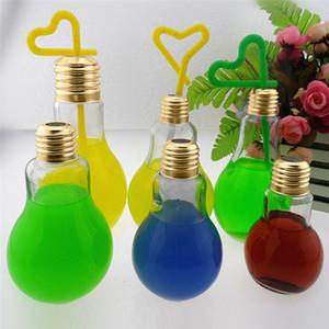 Incrível Bulb Garrafa de água bonito Breve Moda Juice bonito Leite lâmpadas Leak-pro