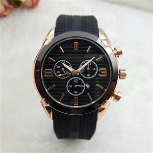 relogio masculino 45m military sport style large men watchs 2019 favour fashion designer black dial unique silicone big male clock epacket
