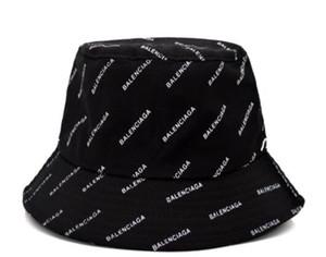 2019 Wholesale-Summer Sun Bucket Hat Schutz Angeln Marke Bob Boonie Bucket Hats Sommer Kappen 23 Farbe