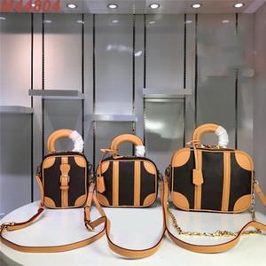women designer luxury handbags purses M44804 VALISETTE mini luggage BB bag tote clutch crossbody bags purses three size travel bags