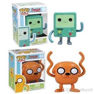 LXH Brandnew Funko Pop Adventure Time avec Finn et Jake Anime Figure Collection Modèle Hot Toys Figurine Doll