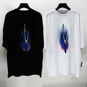 Beauty tide PALM plant cactus shirt PA loose casual round neck short sleeve T-shirt men and women