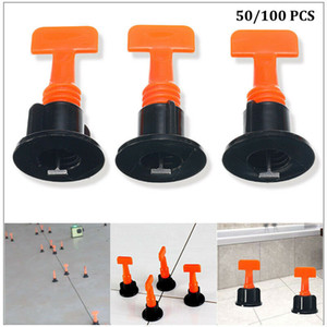 New Plastic T Recados Piso Leveler Cerâmica Ferramentas Tile Nivelamento Sistema de Kits Para T