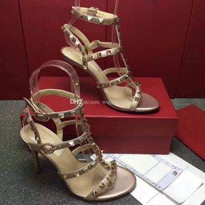 2018 die neuesten Classic-Serie von High Heel Sandalen Abdichtung aus importierten Kuh Lackleder mit einzigartigen hochwertigen Size35 gemacht