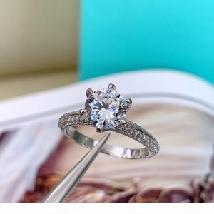 With LOGO and original box 925 sterling silver designer Diamond love rings bague womens marry engagement wedding sets luxury jewelry gift HB