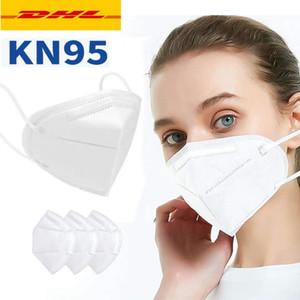 24H Shipping! Folding máscara facial com Certificação Qualificada Máscaras Anti-pó cara Atacado Rápido Frete Grátis por DHL