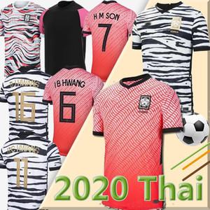 2020 jerseys de fútbol del Sur Corea 2021 SON HUN KWON LEE KIM Ho Son Hyung KIM 20 21 camisas del fútbol uniforme Tailandia