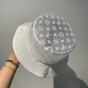 cappello della benna adulto unisex Cappello Pescatore bilaterali porta Stampa esterna solare Cap Hip Hop Pesca