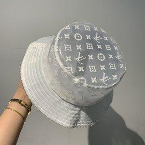 chapéu de balde Unisex Adulto Fisherman Hat Wear Sided Print protetor solar Ar Livre Cap Hip Hop Pesca