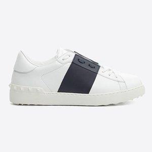 Hot Sale-Noble Tendência Platform DesignerCasual sapatos de luxo de couro Amantes Branco Sapatilhas amantes sapata bonita Sneaker