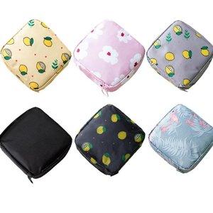 여자 귀여운 작은 화장품 가방 여성 꽃을 닫 주최자 가방 파우치 여행 워시 세면 용품 화장품 립스틱 가방 케이스 5PCS 확인