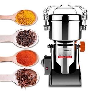 800g Elettrico Herb Grain Grinder Grinder Cereale Mill Farina Coffee Grano di grano cereale rettificatore Pulverizzatore Cibo Macchina per smerigliatrice