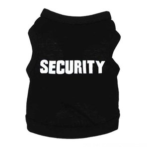 SECURITY Dog Supplies Pet Supplies Back Pet Cat Dog Clothes Vest Summer Unisex Puppy Dogs T Shirt Sleeveless Apparel Clothing Cute Wear for