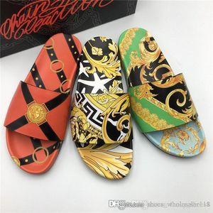 Uomini Pantofole 3D con stampe Sandali diapositive, Beach Flip Flops per Uomo Pursuit Pool Slides pantofole stampa pantofole formato 38-44