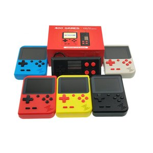 Mini handheld game console for portable game consoles built-in 400 game support AV interface connection TV plus handle