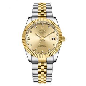Chenxi Marca Automática Relógios Mecânicos para mulheres dos homens amante Relógios Night Light Pointer Alça Aço Inoxidável Waterproof
