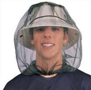 Anti-Mosquito Head Сетки-Насекомое Mosquito Head Net Mesh Защитная крышка маска для лица против комаров Bee Bug насекомых Fly маски Палатки