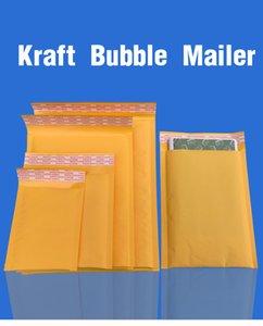 50pcs / lot Kraft sprudeln Werbung Poly Versandtaschen mit Blasen-Versand Taschen Mailer Mailing Taschen aufgefüllte Umschlag-Verpackung