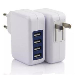 아이폰 삼성 유럽 연합 (EU)과 미국 플러그 여행 벽 전원 어댑터 범용 4 포트 USB 충전기 3.1A AC 전원 어댑터 15w