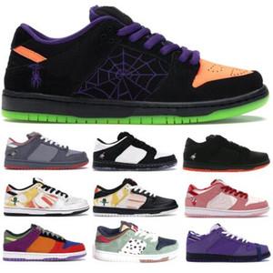 SB Dunk Hommes Chaussures de course 2020 Nouveautés nuit de Halloween Mischief Mode Femmes Baskets basses Strangelove Designer Shoes