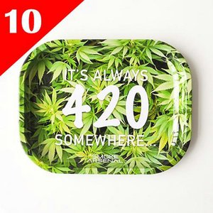 2020 High Quality Cartoon Rolling Tray Metal Tobacco Rolling Tray For Smoking Herb Grinder Rolling Paper Smoke Accessory From hj2009 xiowM